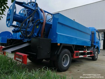 Dongfeng 8000Litres Combined Vacuum And Jetting Trucks