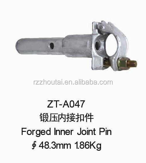 Scaffolding parts, Forged Scaffolding Inner Joint Pin ZT-A047