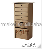 home furniture eco-friendly cardboard cabinet paper drawer