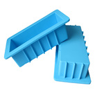 Silicone Mold Soap Baking Mould DIY Rectangle Loaf Soap Mold Silicone Soap Molds