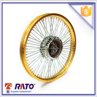 Aluminum alloy 17 inch motorcycle spoke wheels