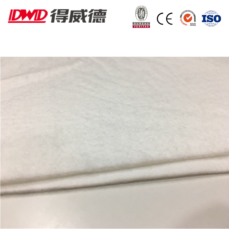 Hot Sell!!! High Quality 100% PTFE Non Woven Needle Air Filter Felts