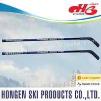 Plastic ice hockey stick for children--laminated wood shaft, Plastic blade