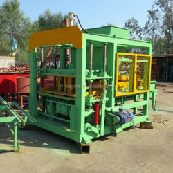 QT4-20 Hydraulic fly ash brick making machine