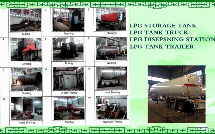detailed information small size 5cbm lpg truck