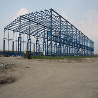 light steel frame low cost prefab house