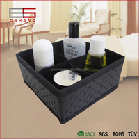 alibaba hot sale simple 4 dividers cosmetic paper storage box