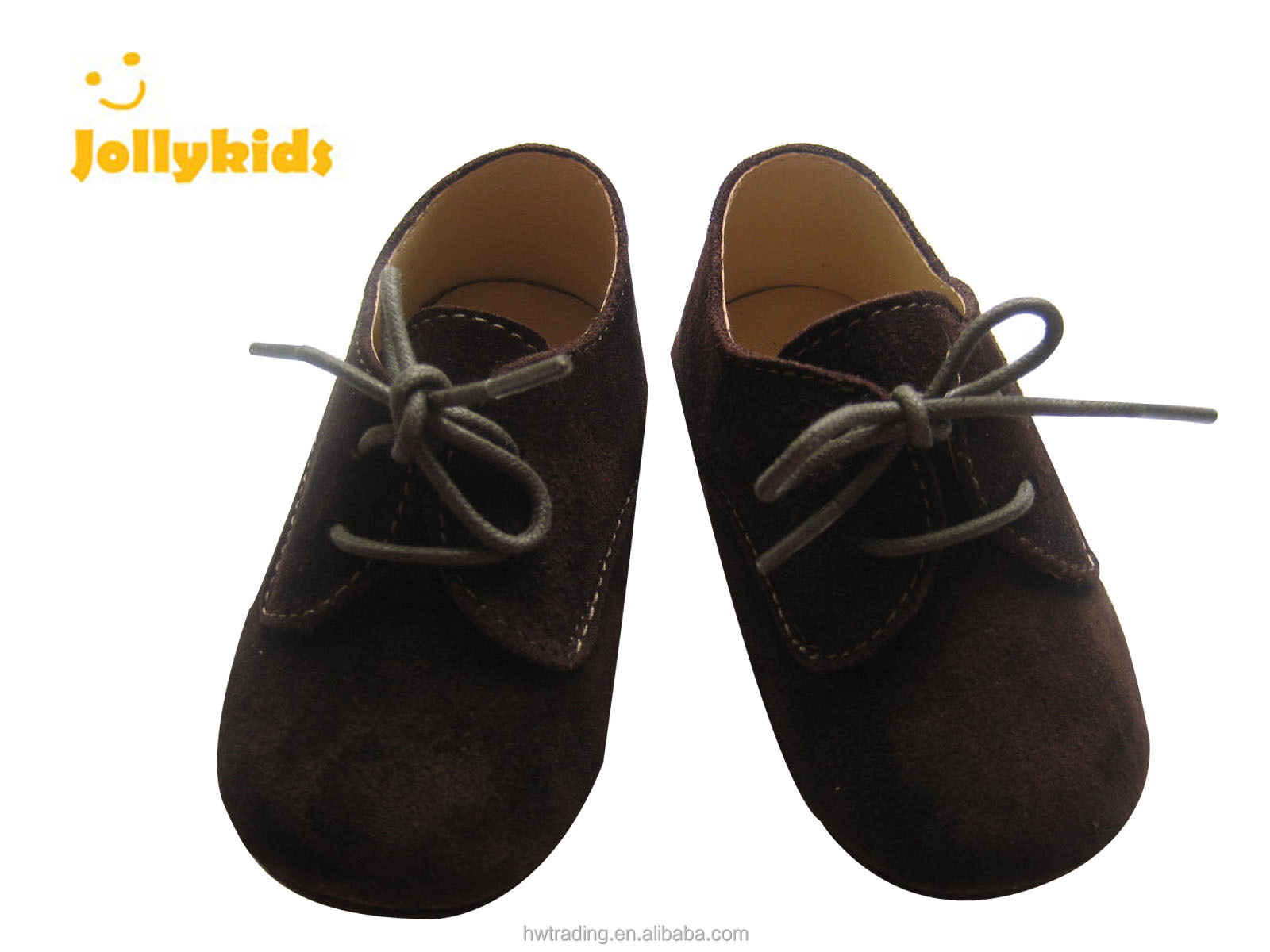 black suede leather shoes for baby boy