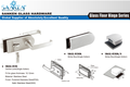 High Quality Hardware Glass Lock Series