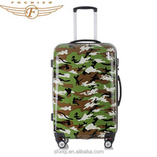Fochier Factory Produced Polycarbonate Trolley Luggage