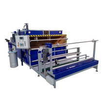 Low electrical power Automatic Spray Glue Laminating Machine
