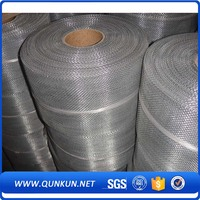 New design best price twill combined with mat weaving steel mesh