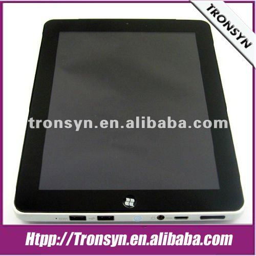 9.7 Inch IPS Capacitive multi-touch screen tablet pc support windows 7