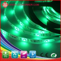 2015 Newest Design 12V DC 3528 200mp 3m Tape Smd 3528 Led Strip Lighting White RGB Double From Ledworker