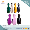 Violin Music 4/4 Full Size Super Lightweight Carbon fiber Cello Case with Wheel (custom color)