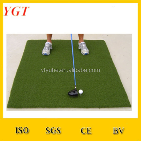 large 5'x 5' golf training practice turf mat driving pitching putting mat