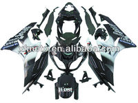 For Kawasaki ZX6R ZX-6R 2009-2011New Injection molded Plastic Fairing Body Work