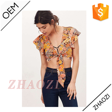 online shopping china clothes floral design cotton kurti fashion floral tops new design latest women tops