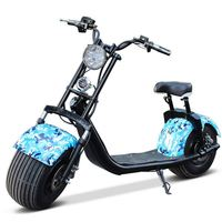 2017 Coolest CE Approved 1000W Citycoco With Seat Cheap Electric Scooter 2 Big Wheel Scooter For Adult