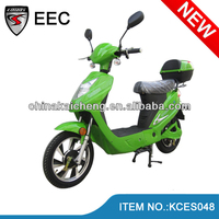 "Hot sale and strong 16"" electric scooter street legal 350W/400W/500W"