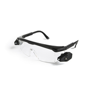 G013 Hot selling day night safety glasses, safety glasses led light glasses, safety glasses mamufacturers with low price