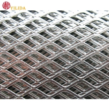 good quality durable galvanized expanded metal for fence mesh