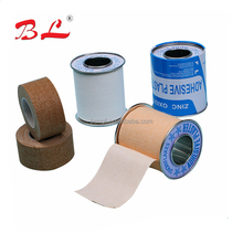 high quality strong stickness wound care plaster zinc oxide adhesive plaster