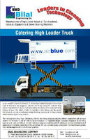 Catering High Loader Truck