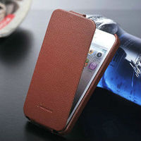New 2013 best price luxury genuine litchi new high end leather case for iphone 5