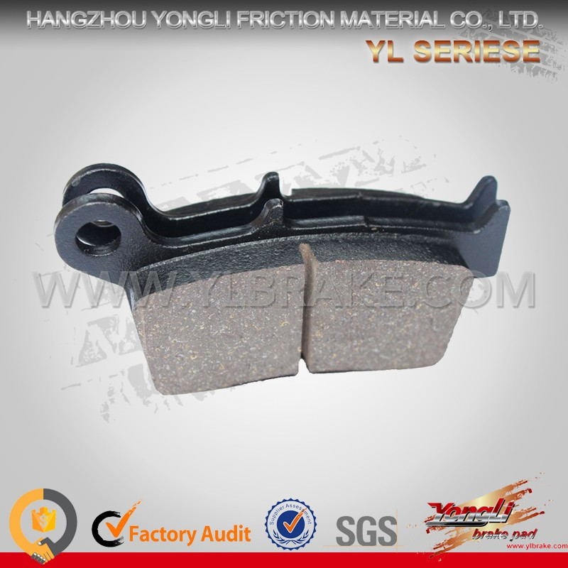 YONGLI YL-F017 Low Wear Rate Clip Brake Pad