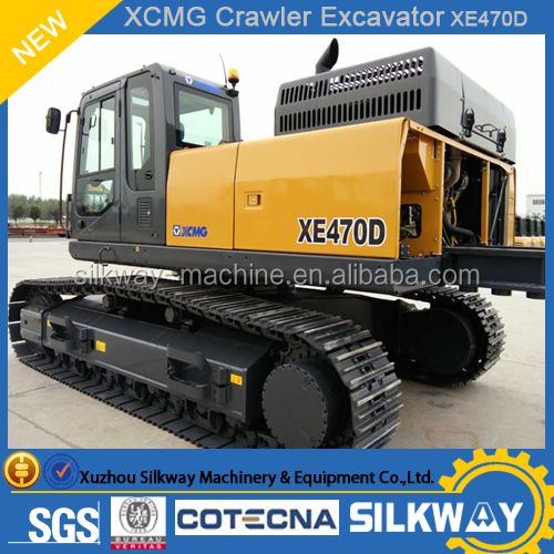 XCMG Large Crawler Excavator for Sale XE470D for Mining heavy duty