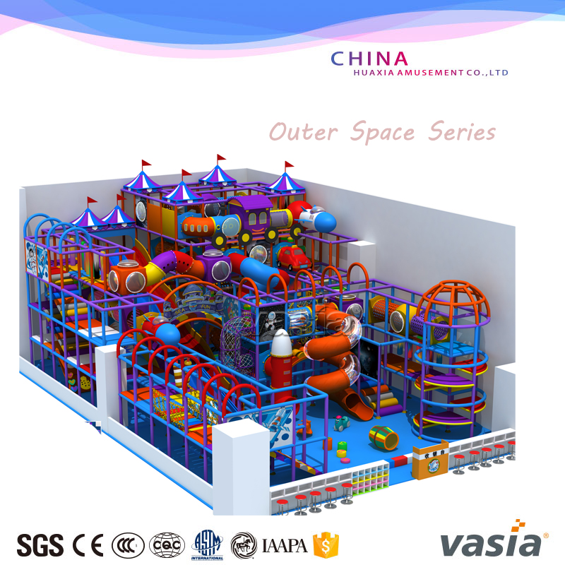 Cheap indoor kids playground equipment for play center