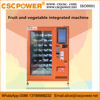 lcd screen drinks and snacks machine with bill acceptor