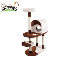 Cheap Price Fancy Cat Tree House Cat Tree Condo Activity Center For Big Cats