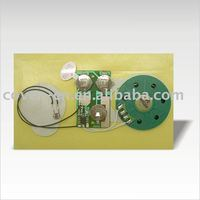 light sensor voice module/greeting card music chip/sound module