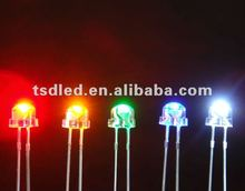 Super Red Amber Blue Green White 5mm Straw hat led lamp ,led light,led diode