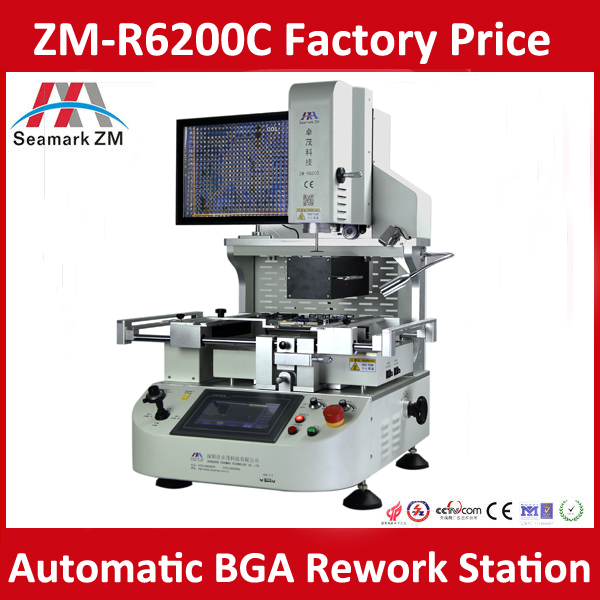 Hot Air Remove BGA Machine Desoldering Rework Station ZM-R6200N for PS3 PS4 XBOX One Console Laptop BGA Repair