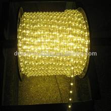 warm white led rope light for Christmas decoration
