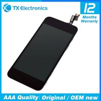 100% tested New Original full assembly LCD display For iphone 5 lcd touch screen with digitizer assembly