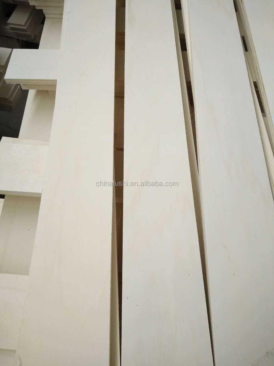 Poplar core Indoor Usage LVL slat furniture parts curved bed slat
