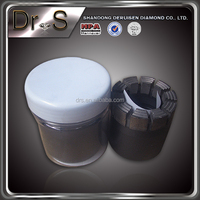 Geological Diamond Core Drill Bits and single tube impregnated diamond bits well drilling