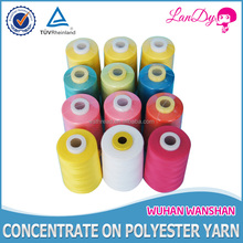 60 3 high tenacity chemical resistance spun polyester sewing thread
