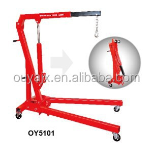 1Ton Foldable Shop Crane with CE