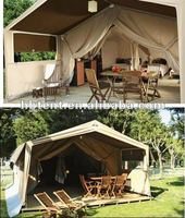 Large Canvas Safari Tent(ISO9001:2008)