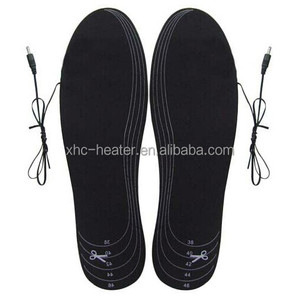 rechargeable battery heat insoles