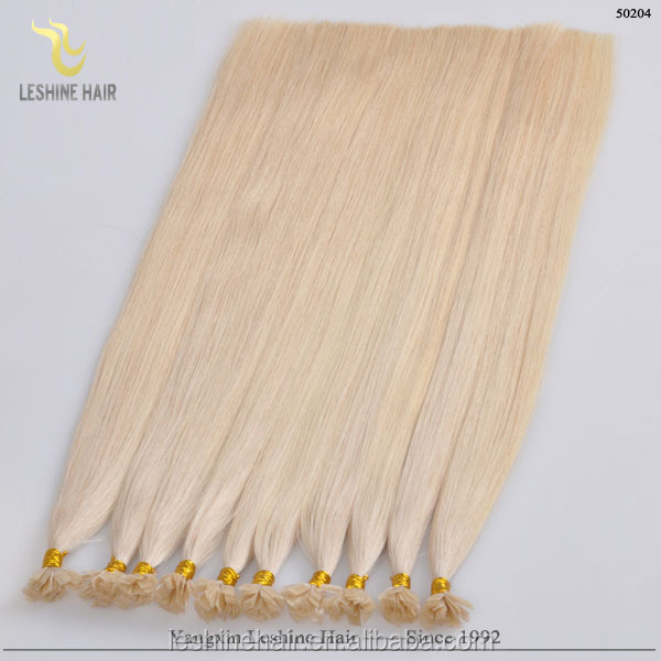 new beauty alibaba express Italian glue wholesale double drawn cold fusion hair extension for cheap