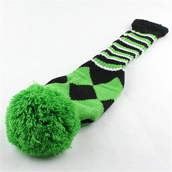 Custom unique golf knitted driver golf club animal head cover custom made putter crazy glof head covers