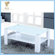 China Cheap customized luxury glass coffee table