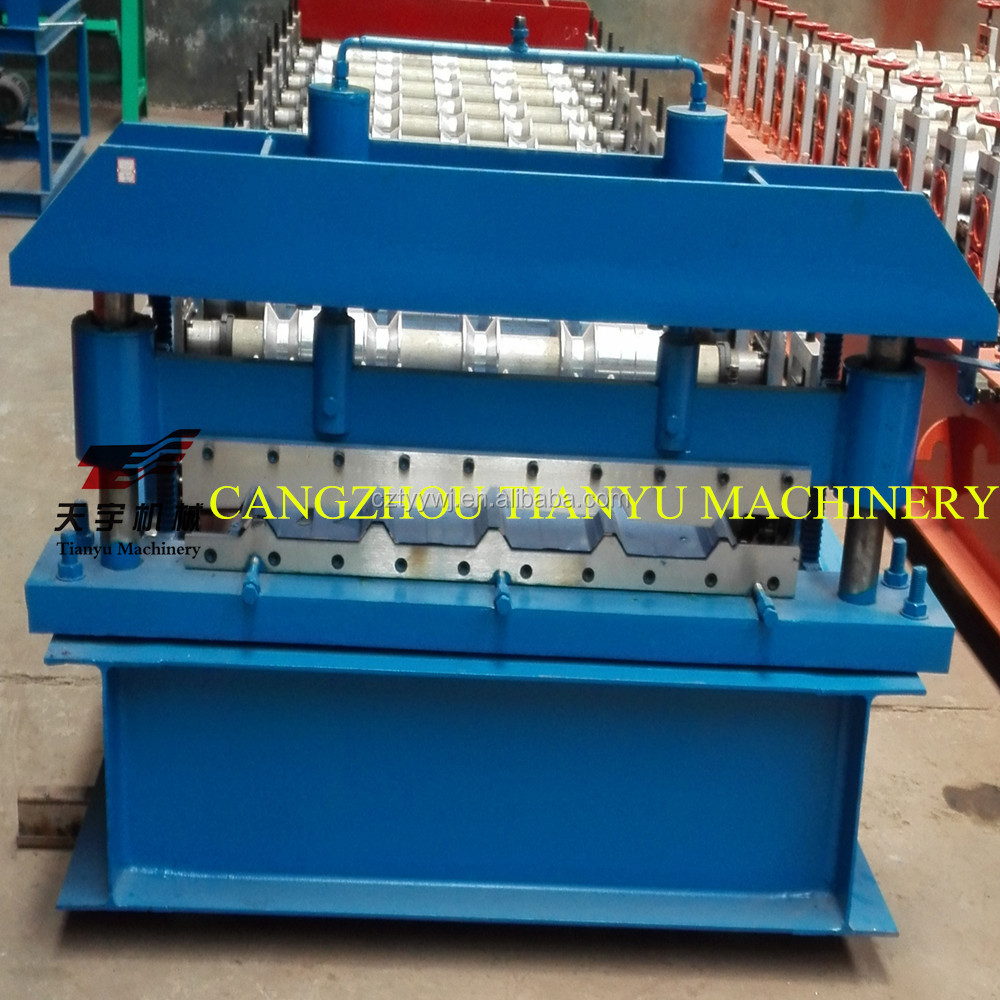 Automatic color steel roof panel roll forming machine for metal