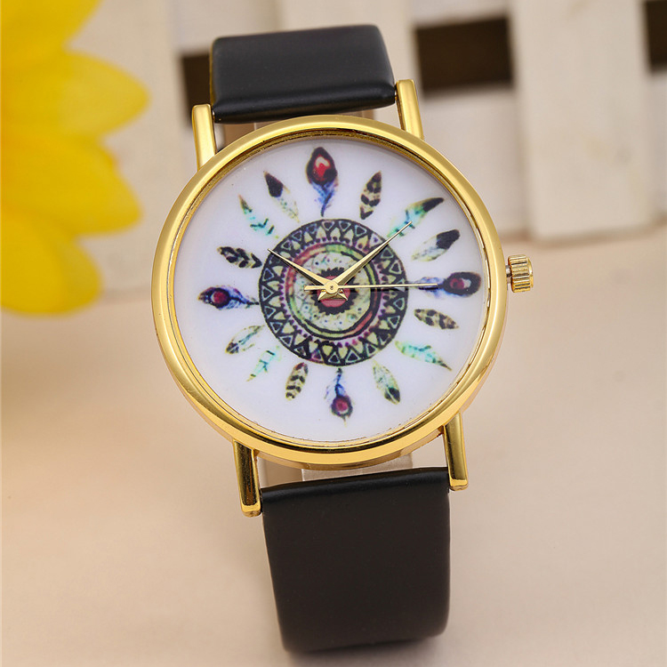 Fashion Simple promotion item Low Cost Custom Made watch manufactuers